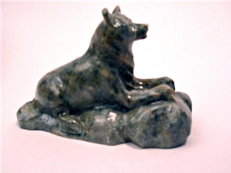 Soapstone carving or sculptures